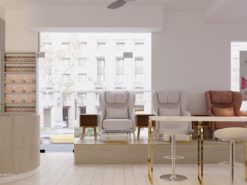 Thiết kế nội thất shop, văn phòng, spa