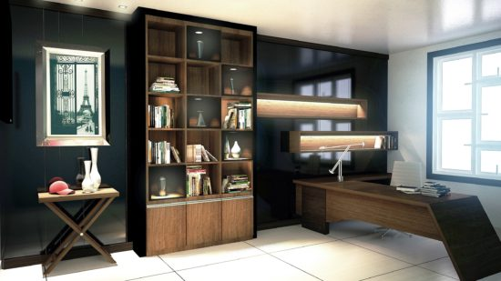 Bố trí các nội thất cần thiết để tạo sự thoải mái khi làm việc