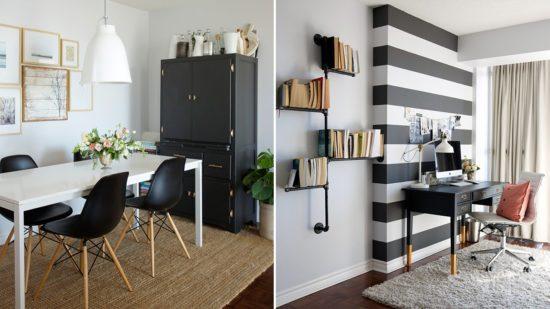 Cách bố trí không gian và lựa chọn màu sắc đối với các căn hộ nhỏ