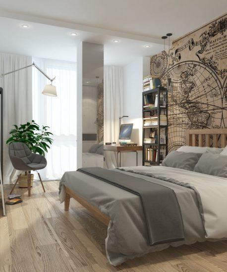 Chú ý yếu tố ánh sáng trong không gian phòng ngủ