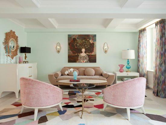 Gam màu pastel cho không gian nhẹ nhàng, lãng mạn