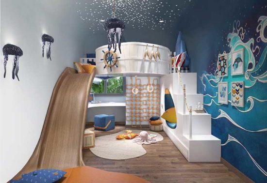 Gợi ý thiết kế phòng ngủ cho trẻ năng động