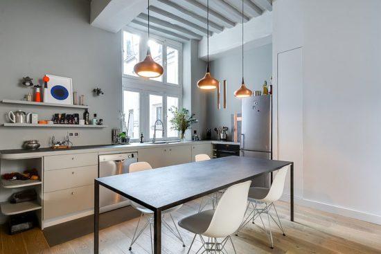 Không gian căn bếp của nhà chung cư