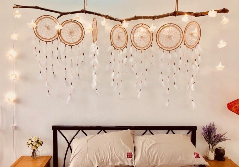 Không gian đẹp hơn với đèn trang trí phòng ngủ