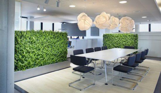 Không gian văn phòng thân thiện và gần gũi hơn với cây xanh
