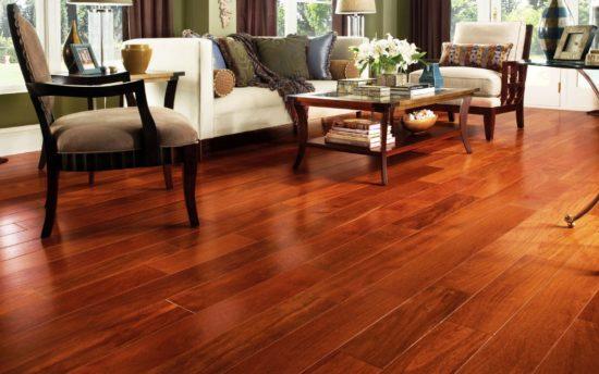 Lựa chọn màu sắc sàn gỗ phù hợp với từng không gian