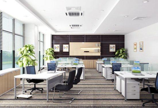 Lựa chọn màu sắc thiết kế văn phòng phù hợp