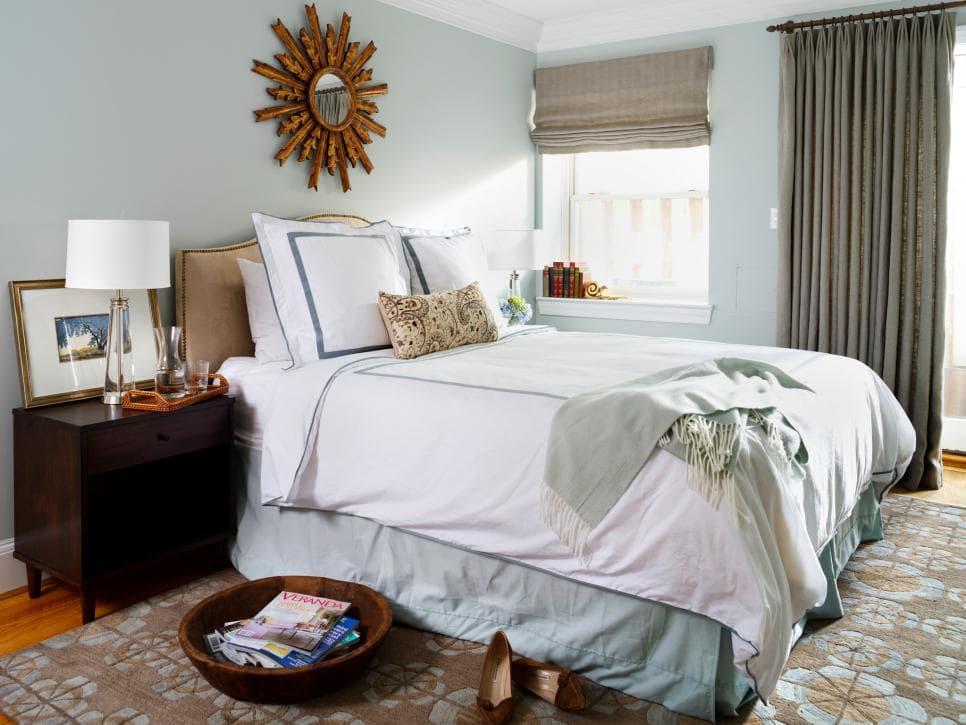 Màu sắc trong phòng ngủ cần được cân bằng và hài hoà