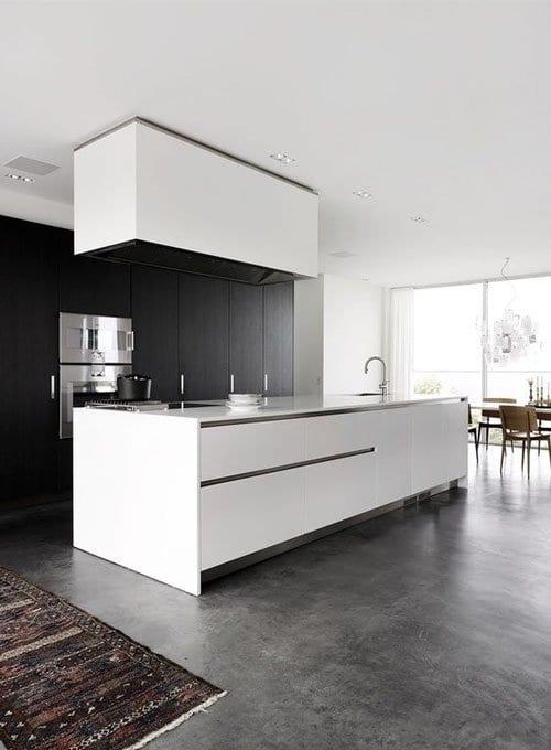 Nhà bếp đẹp đơn giản, tiện nghi