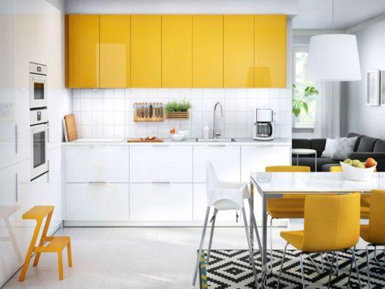 Nhà bếp đẹp với tone trắng chủ đạo