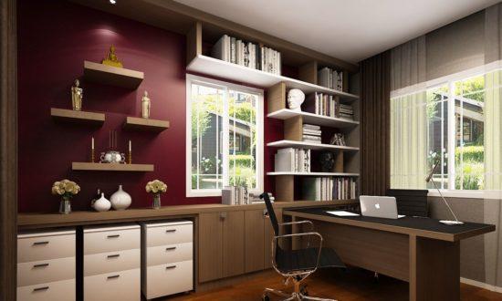 Nội thất phòng làm việc thể hiện tính cách của chủ nhân căn phòng