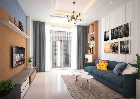 Phòng khách nhỏ đẹp được yêu thích nhất 2019
