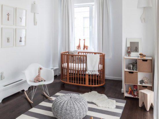 Phòng ngủ dành cho bé sơ sinh