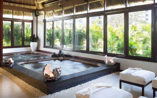 Phòng spa dịch vụ chung ngập tràn ánh sáng thiên nhiên