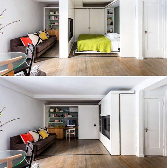 Sử dụng nội thất thông minh cho căn nhà được rộng rãi và hiện đại hơn
