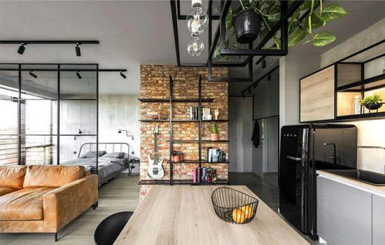 Tận dụng trần nhà để trang trí và lưu trữ những món đồ nhỏ gọn