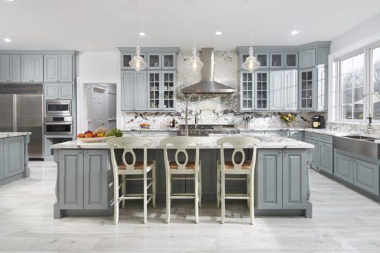 Thiết kế nhà bếp cho biệt thự