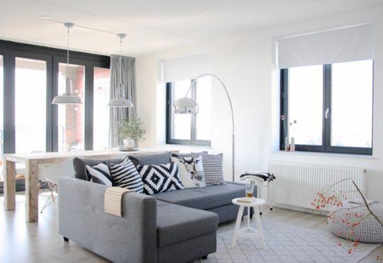 Thiết kế phòng khách cho chung cư 70m2