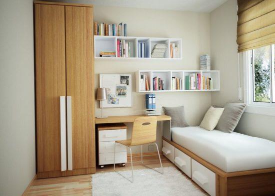 Thiết kế phòng ngủ cho con cái trong căn hộ chung cư 70m2