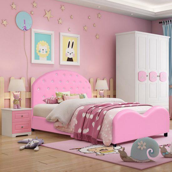 Thiết kế phòng ngủ vô cùng đáng yêu dành cho các bé gái