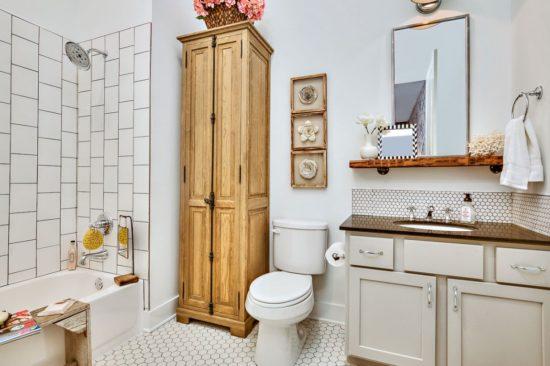 Thiết kế phòng tắm vẫn phải đảm bảo nhữg nội thất cơ bản nhất