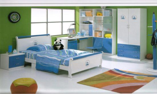 Tô điểm cho căn phòng ngủ cho bé trai với gam màu tươi sáng