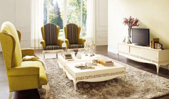 Trang trí phòng khách phong cách sang trọng tinh tế