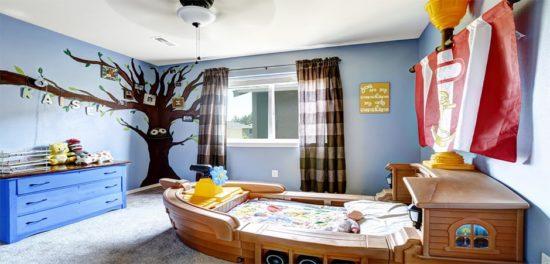 Trang trí phòng ngủ cho bé thật sáng tạo để kích thích trí tuệ của bé