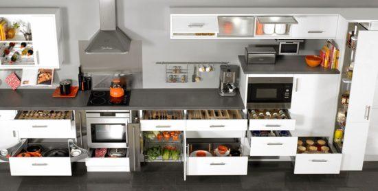 Tủ bếp đẹp thông minh