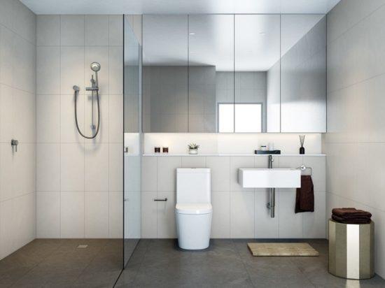Vách ngăn kính cho phòng tắm đẹp
