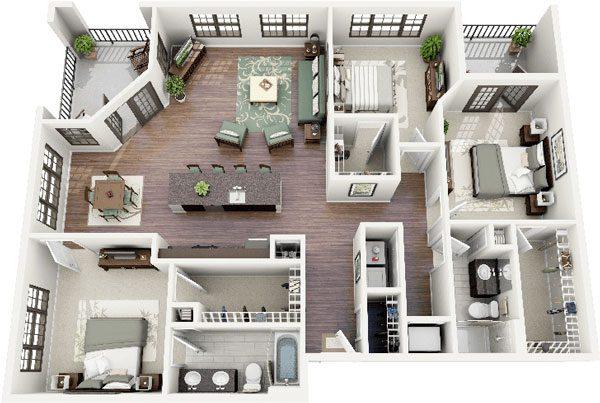 Bố trí nội thất sang trọng cho căn nhà thêm tiện nghi