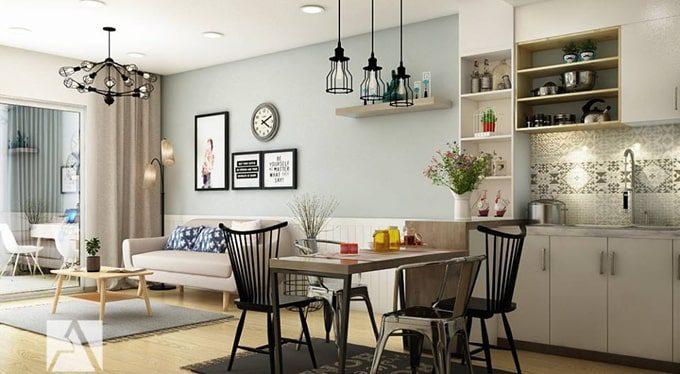 Chú ý đến công năng khi lựa chọn đồ nội thất chung cư 70m2