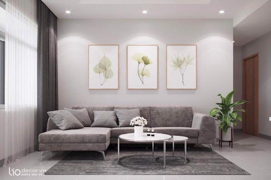 Chú ý đến yếu tố ánh sáng cho không gian phòng khách