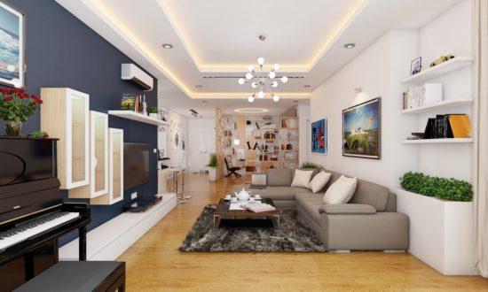 Đảm bảo sự cân bằng về tỷ lệ trong nội thất chung cư cao cấp