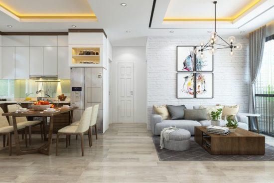 Đảm bảo tính thống nhất trong thiết kế nội thất chung cư
