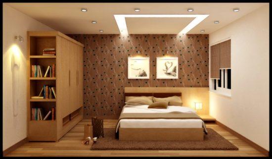 Đèn ốp trần được sử dụng vừa để trang trí vừa cung cấp nguồn sáng chính