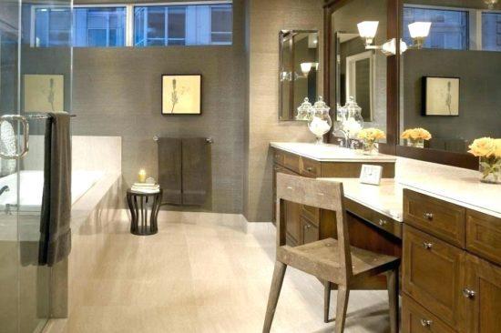Diện tích phòng tắm phù hợp với tổng diện tích của ngôi nhà