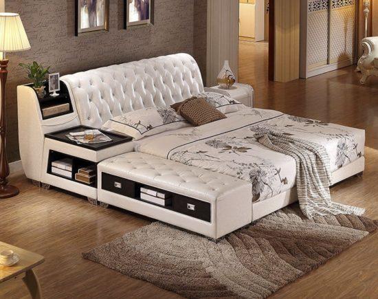 Giường ngủ thông minh cho phong cách nội thất hiện đại