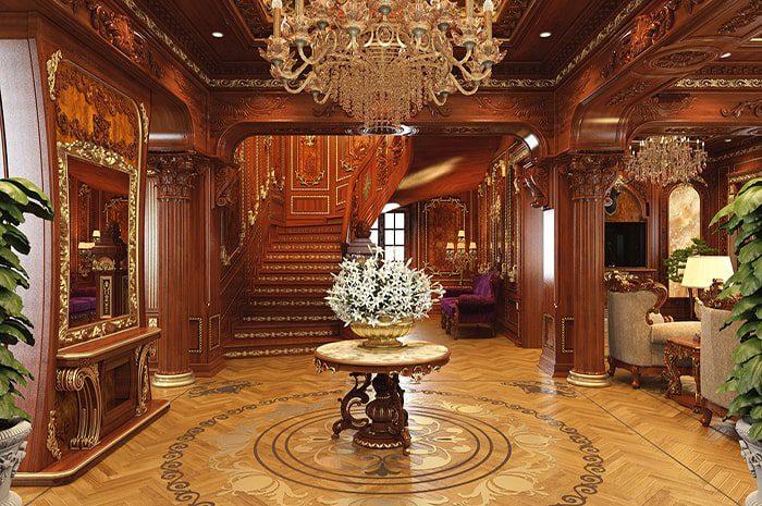 Kinh nghiệm thiết kế nội thất cổ điển