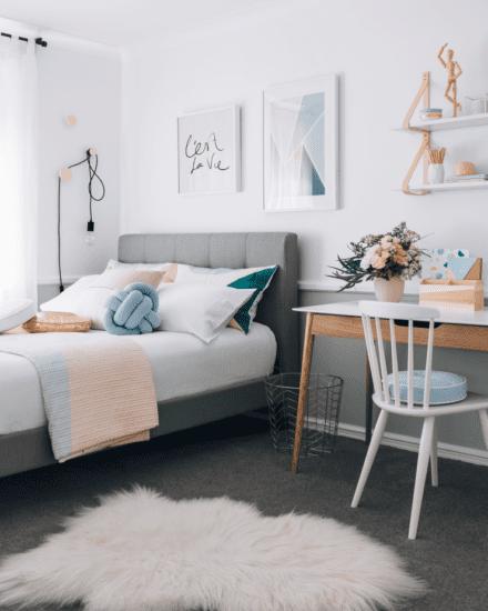 Lựa chọn các màu sắc khác cho nội thất để không gian ấm áp hơn