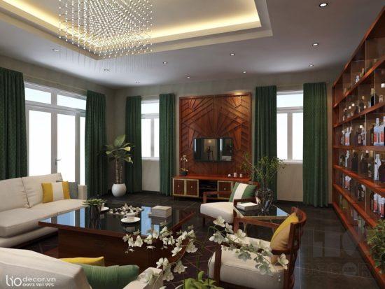Lựa chọn các màu sắc phù hợp với nội thất tân cổ điển