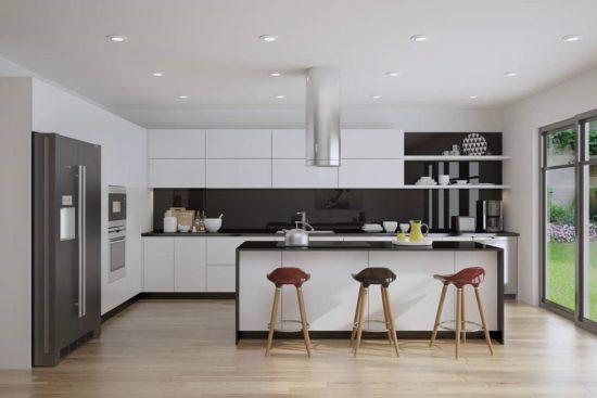 Lựa chọn kích thước đảo bếp phù hợp với không gian bếp