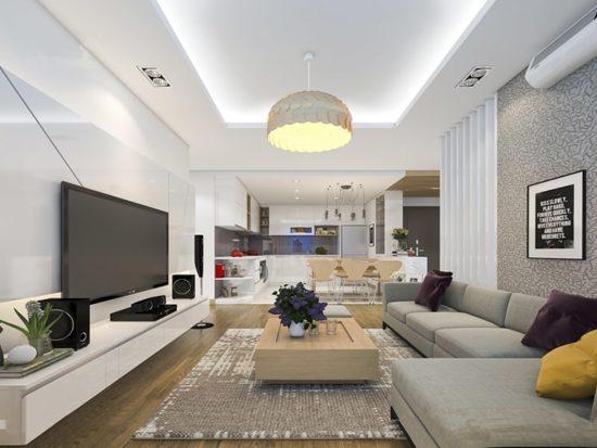 Lựa chọn vật liệu hiện đại cho nội thất hiện đại