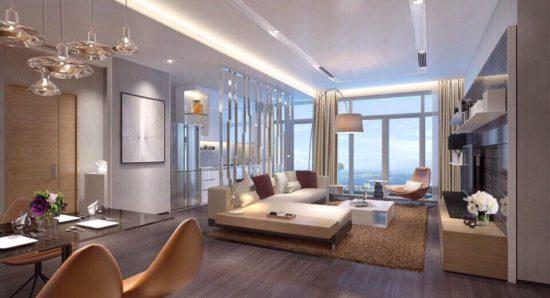 Lưu ý khi thiết kế nội thất chung cư cao cấp