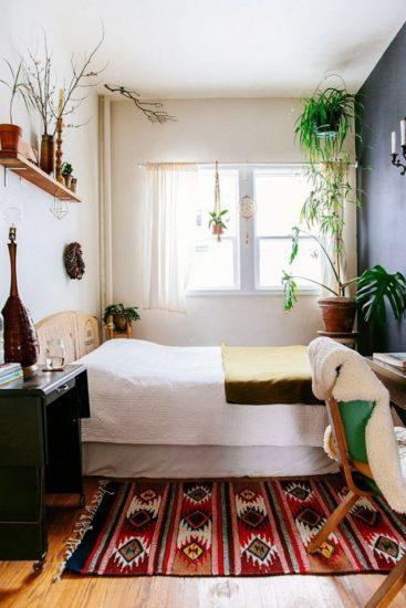 Mang cây xanh vào nhà cũng là một ý tưởng thiết kể độc đáo