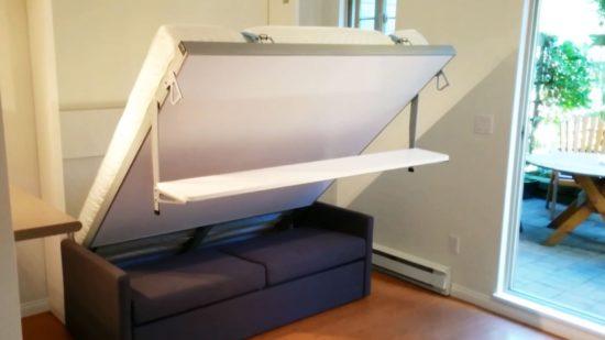 Mẫu nội thất giúp tiết kiệm không gian hơn