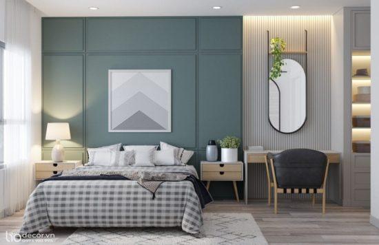 Mẫu phòng ngủ mang phong cách hiện đại