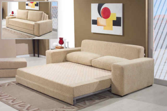 Mẫu sofa thông minh kết hợp với giường ngủ