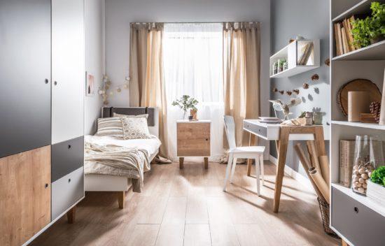 Nên chọn những gam màu sáng cho không gian phòng ngủ nhỏ