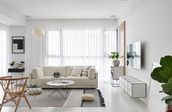 Nội thất chung cư 70m2 theo phong cách hiện đại